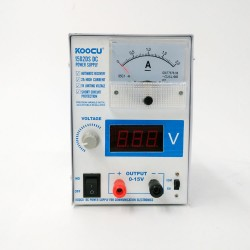 Koocu 1502DS DC Power Supply (15V ~ 2A)