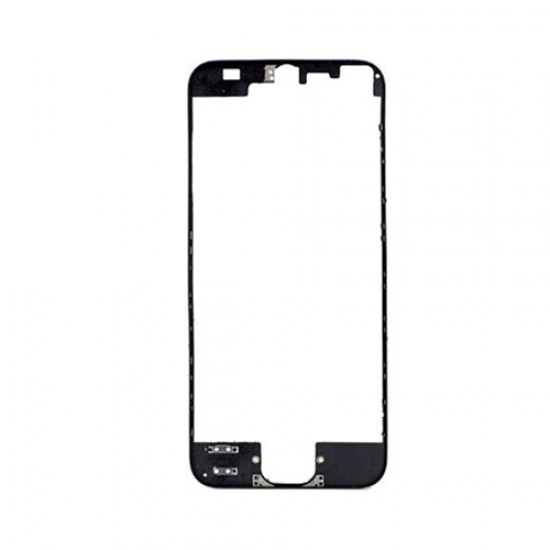 iPhone 5S Front Supporting Frame With Hot Glue - Black