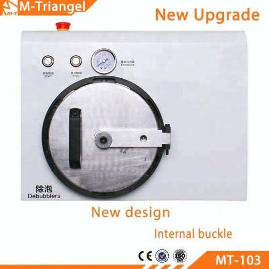 M-Triangel (MT-103) LCD Laminating With Edge Support & Bubble Remover Machine