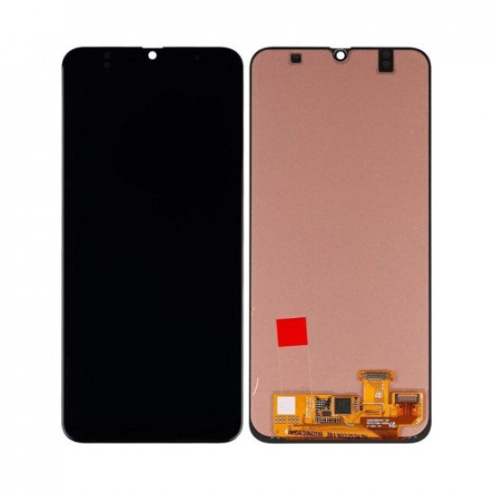LCD With Touch Screen For Samsung A30 - Black