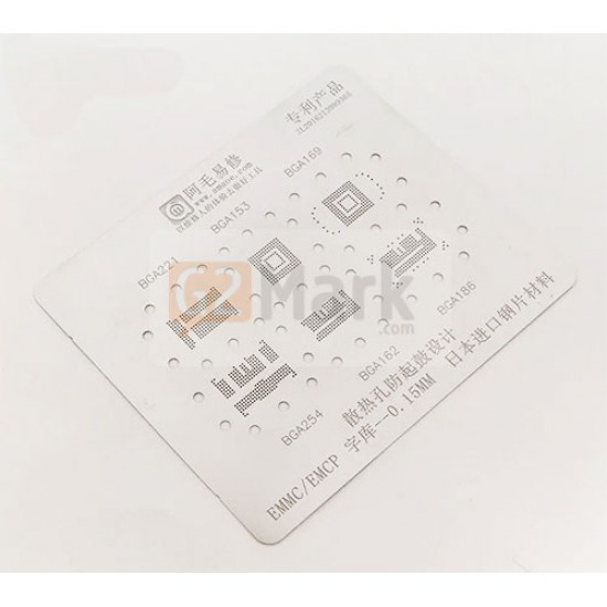 0.12MM Stencils Plates For EMMC/EMCP/UFS