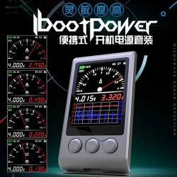 I-BootPower Power Cable For iPhone Android IOS with inbuilt Power Supply