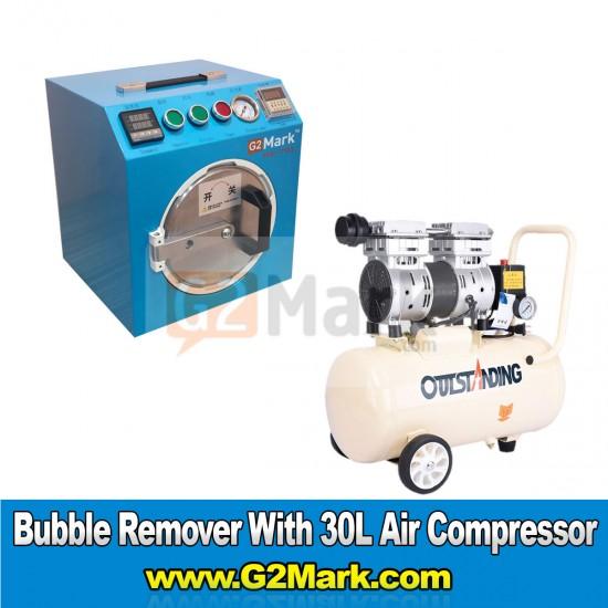 RE-793 Bubble Remover Machine With 30L Air Compressor