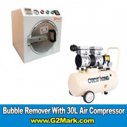 RE-793 Bubble Remover Machine ( Medium 11 Inch ) With 30L Air Compressor