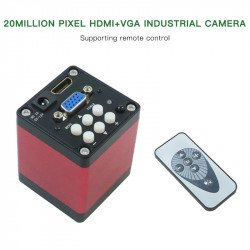 G2Mark HDMI Digital Microscope Camera for Stereo Microscope Dual Display Output ( 20MP 1080P )
