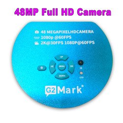 G2Mark Full HD 1080P 60FPS 2K 4800W 48MP HDMI USB Industrial Electronic Digital Video Microscope Camera