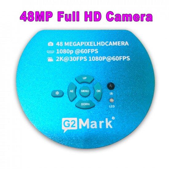 G2Mark Full HD 1080P 60FPS 2K 4800W 48MP HDMI USB Industrial Electronic Digital Video Microscope Camera