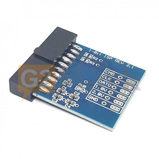 Easy Jtag 1 Bit ISP Adapter Version 2.1