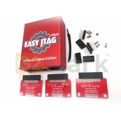 Easy Jtag Plus ( Red Shell ) With 3 ISP Adaptor