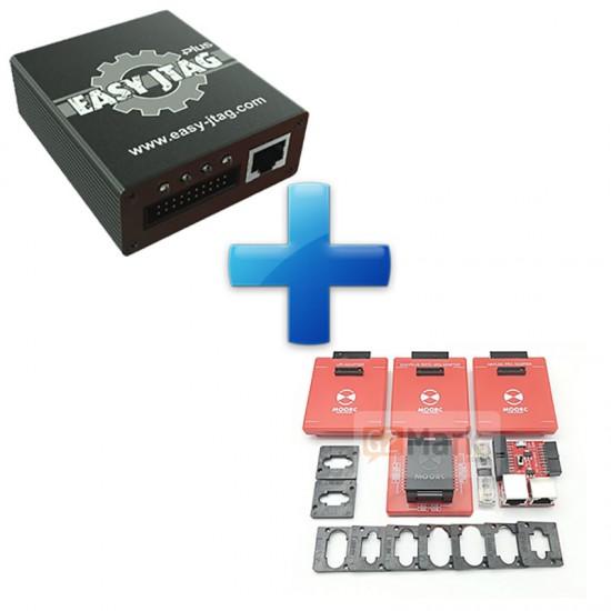 Easy JTAG Plus Box With ICFriend EMMC BGA 13-In-1