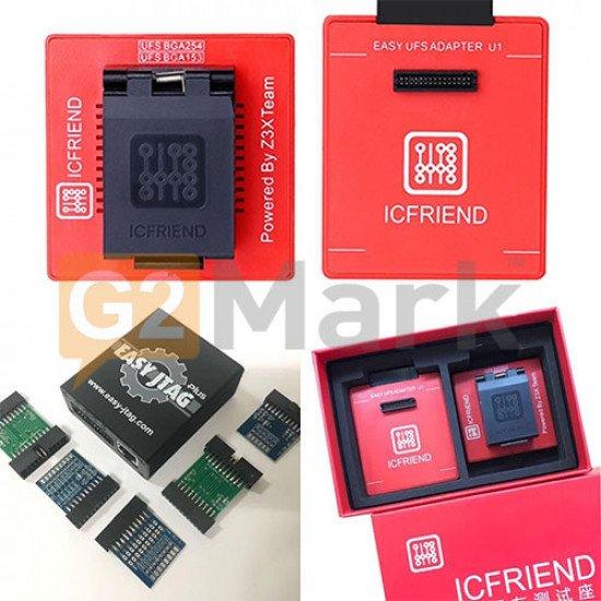Easy JTAG Plus Box With UFS 2in1 Socket ( BGA 254 + BGA 153 )