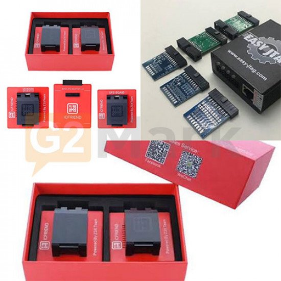 Easy JTAG Plus Box With UFS 3in1 Socket (BGA 254 + BGA 153 + BGA 95)