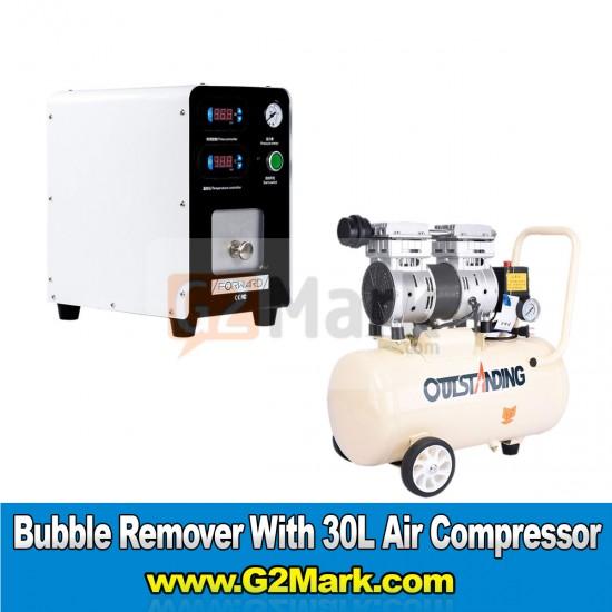 Forward Bubble Remover With Air Compressor 30L