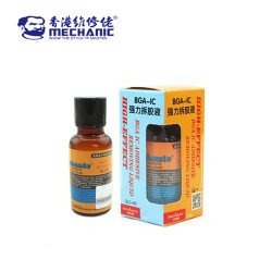 Mechanic Pasted BGA IC Epoxy Black Glue Remover Liquid QC-20 ( 20ML )