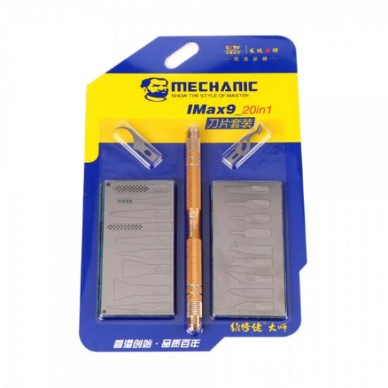 Mechanic IMAX 9 20in1 Blade Set