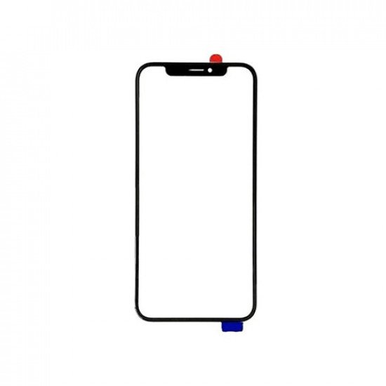 OCA Glass With Frame Pasted For iPhone 11