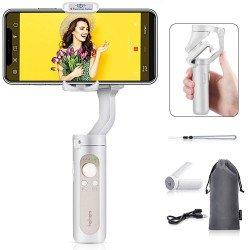 Hohem iSteady X Folding Smartphone Gimbal Stabilizer (White)