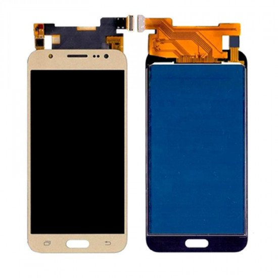 LCD With Touch Screen For Samsung Galaxy J5 - Gold ( OGS )