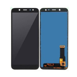LCD With Touch Screen For Samsung J6 - Black