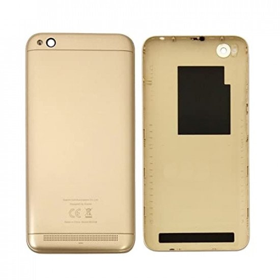Back Panel Cover for Xiaomi Redmi 5A - Gold