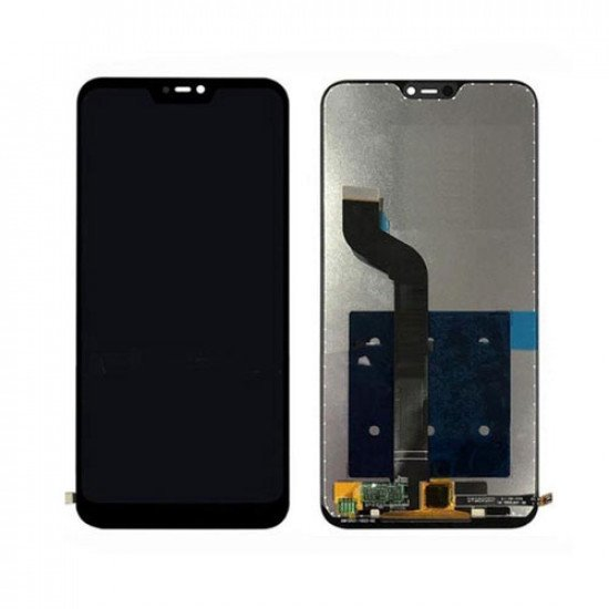 LCD With Touch Screen For Redmi 6 Pro - Black ( OGS )