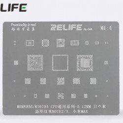 0.12MM Stencils Plates For MSM8956 / MT6795 CPU ( MI4 )