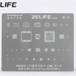 0.12MM Stencils Plates For MSM8996 CPU ( MI8 )