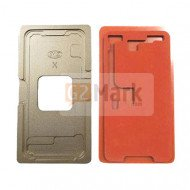 Glass Alignment Mold With Laminate Rubber Mat For iPhone X