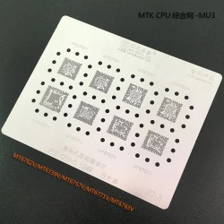 0.12MM Stencils Plates For MTK CPU (MU3)