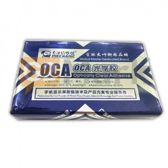 Mechanic Brand OCA Sheet For 6.8 Inch With 3 Layers OCA Protection - 50Pcs