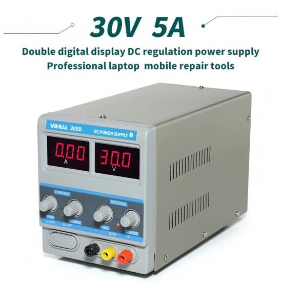 YiHua Digital DC Power Supply 305D ( 30V ~ 5A )