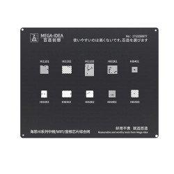 Qianli 0.12MM Black Stencil  Kirin Hi Series for IF/WIFI/Audio Chip ( BZ 1 )