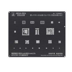 Qianli 0.12MM Black StencilMT6735V CPU for MEIZU & Noblue 2CTCC/noteCTCC/note2/5S ( BZ 12 )