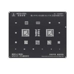 Qianli 0.12MM Black Stencil MT6757V CPU for MEIZU Pro7/Noblue X ( BZ 13 )