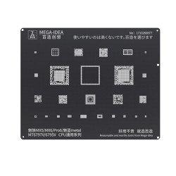 Qianli 0.12MM Black Stencil MT6797V/6795V for MEIZU MX5/MX6/Pro6/Noblue metal ( BZ 14 )