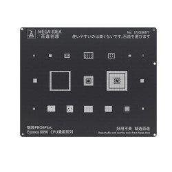 Qianli 0.12MM Black Stencil Exynos 8890 CPU for MEIZU PRO6Plus (BZ 15)