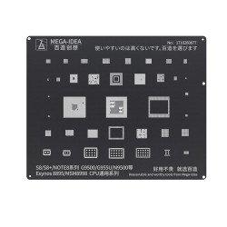 Qianli 0.12MM Black Stencil Exynos 8895/MSM8998 CPU for S8/S8+/NOTE8 Series G9500/G955U/N9500 ( BZ 17 )