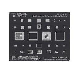 Qianli 0.12MM Black Stencil Exynos 8890/MSM8996 CPU for S7 Series G9300/9350/9308/G930F ( BZ 18 )