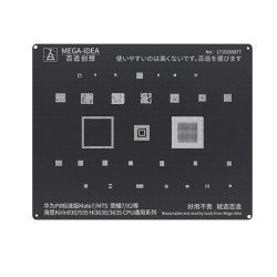 Qianli 0.12MM Black Stencil Kirin930/935 Hi3630/3635 General CPU Series for HUAWEI P8/Mate7/MTS,Honor7/X2( BZ 2 )