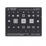 Qianli 0.12MM Black Stencil Exynos 3470/7580/7880 CPU for Samsung A520/A310/S5mini,General A7/A5/A3/S5/J7 series ( BZ 20 )