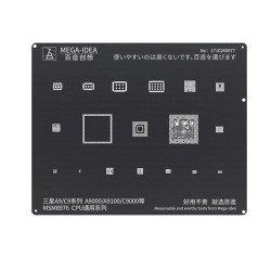 Qianli 0.12MM Black Stencil MSM8976 CPU for Samsung A9/C9 Series A9000/A9100/C9000 and series ( BZ 21 )