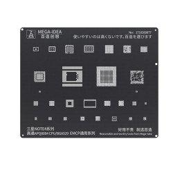 Qianli 0.12MM Black StencilQualcomm APQ8084 CPU/BGA529 EMCP for Samsung NOTE4 Series ( BZ 24 )