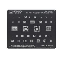 Qianli 0.12MM Black Stencil Exynos 7570/3475,SC9830A/7730S CPU for Samsung J1/J2/J3/J4 Series J100H/J2/J320F/G570M ( BZ 25 )