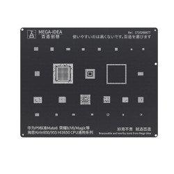 Qianli 0.12MM Black Stencil Kirin950/955 HI3650 CPU for HUAWEIP9/Mate 8,Honor 8/V8/Magic ( BZ 4 )