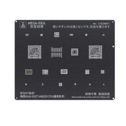 Qianli 0.12MM Black Stencil Kirin 910T HI6620 CPU for HUAWEI P7 Series ( BZ 6 )