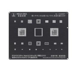 Qianli 0.12MM Black Stencil Kirin970 Hi3670 CPU for HUAWEI P20/P20Pro,HUAWEI Mate10/10Pro/RS,Honor 10/V10 ( BZ 8 )