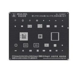 Qianli 0.12MM Black Stencil  Kirin980 Hi3680 CPU for HUAWEI Mate20/20X/20Pro/20RS/MateX Honor V20/Magic2 ( BZ 9 )