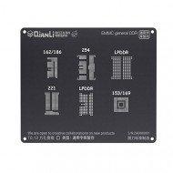 Qianli 0.12MM 3D eMMC Black Stencil