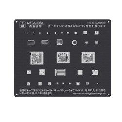 Qianli 0.12MM Black Stencil MSM8953/MSM8917 CPU for Redmi Note4X,Redmi 4 / 4A / 5A / 5Plus / S2 / Pro, MI 5X/MAX2 ( QL 10 )