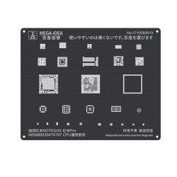 Qianli 0.12MM Black Stencil MSM8953/MT6797 CPU for Redmi Note4/4X,Redmi Pro ( QL 11 )